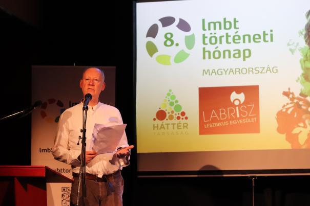 A programsorozatot február 1-én Neil McKenna brit író, újságíró, aktivista nyitotta meg.